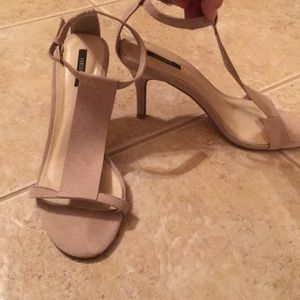Forever 21 Shoes - Women's cream color heels